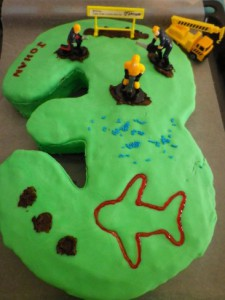 My 3rd birthday cake