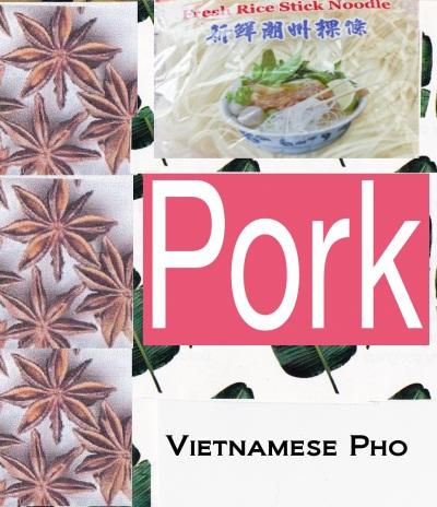 Vietnamese pork pho