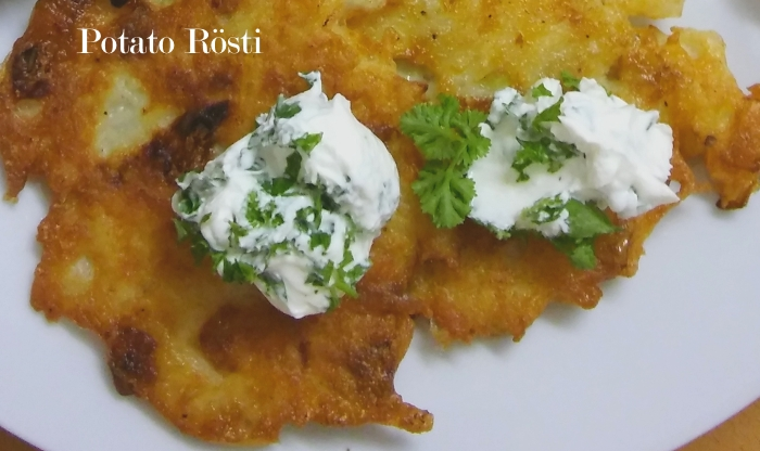 Potato Rösti recipe