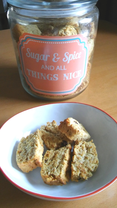 sugar and spice rusks