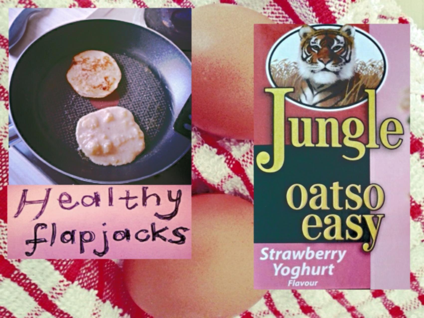 healthy oats flapjacks