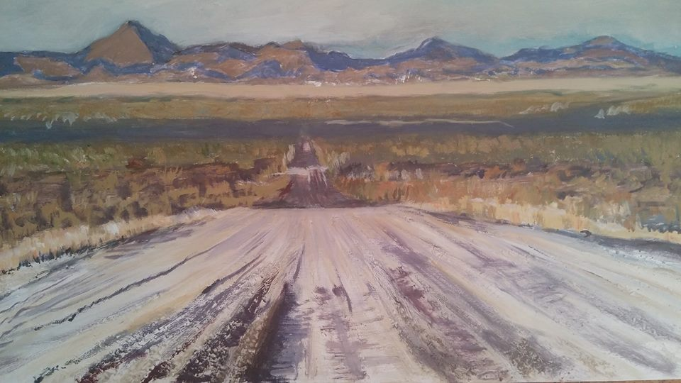 dirt road christa espost art